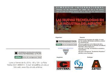 LAS NUEVAS TECNOLOGIAS EN LA INDUSTRIA DEL ... - SICyT