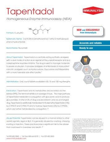 Homogeneous Enzyme Immunoassay (HEIA) - Immunalysis