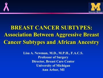3.4-Breast cancer subtypes (Newman) - Breast Health Global Initiative