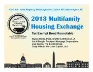 Tax Exempt Bond Roundtable