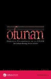 Descargar programa completo - Música UNAM - Universidad ...