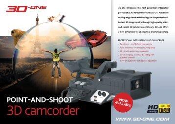 3D camcorder - Visual Impact France