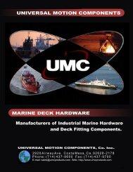 MARINE DECK HARDWARE Manufacturers of ... - Marine Office