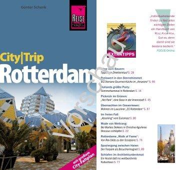CITY|TRIP Rotterdam - Reise Know-How