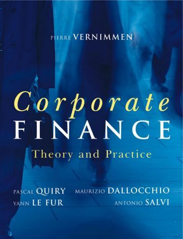finance practice This investment-focused practice of the corporate finance group offers in-depth experience at each stage of the development process.