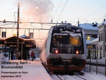 Last ned Jernbaneverkets presentasjon - Ringsaker kommune