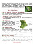 Cool Facts – Frogs & Toads - Lakeside Nature Center - Page 2