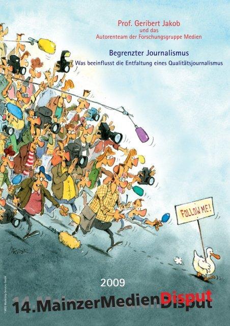 Begrenzter Journalismus - MainzerMedienDisput