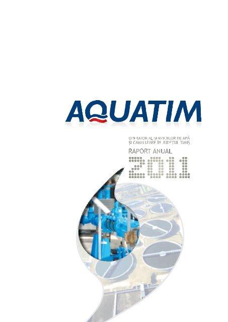 Raport anual 2011 .pdf - Aquatim