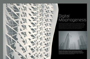 Digital Morphogenesis - Neil Leach