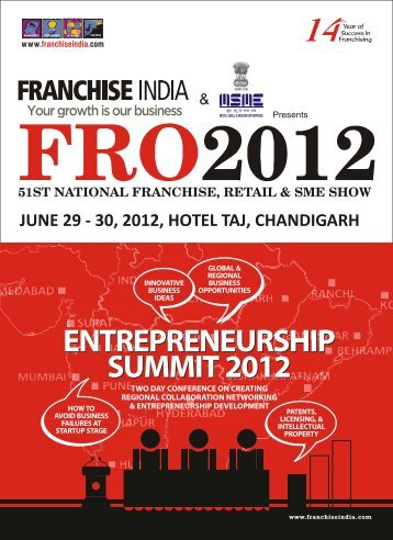 Conference Brochure - Chandigarh - Franchise India