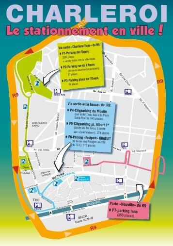 Plan de mobilité au centre-ville - B4C » Business for Charleroi