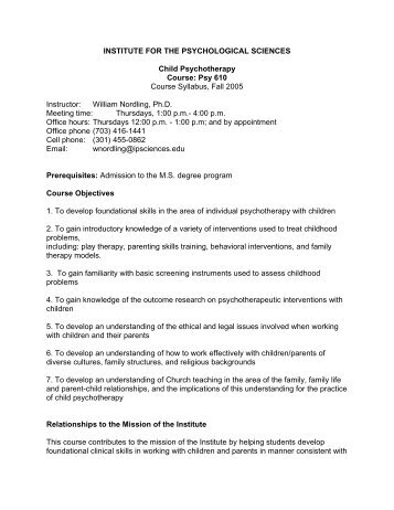 psy 201 course syllabus 1 syllabus psy 201: introduction to psychology new mexico state university dr igor dolgov purpose and goals: the purpose of this course is to provide a broad overview of the discipline of psychology.