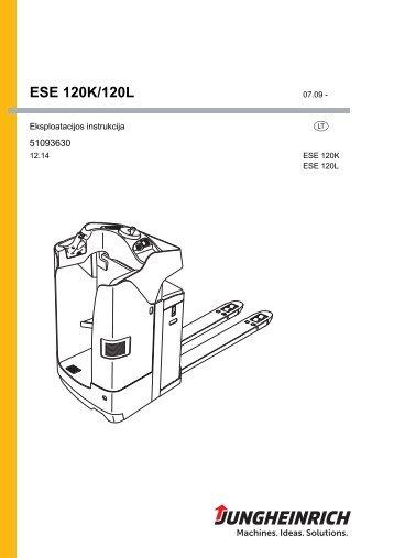 ESE 120K/120L - Jungheinrich