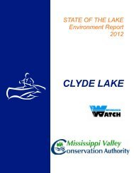 CLYDE LAKE - Mississippi Valley Conservation