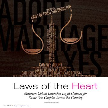"Full article – ""Laws of the Heart"" - Buchanan Ingersoll & Rooney"