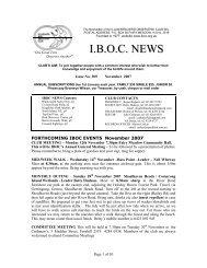 November 2007 - Illawarra Bird Observers Club Inc