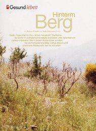 Berg - Barbara Schaefer