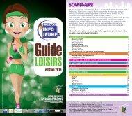 Guide loisirs - Le portail de l'information jeunesse en Auvergne
