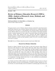Review of Distance Education Research (2000 to ... - Anitacrawley.net