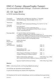 Ausschreibung EWU-C Bernsburg 2013
