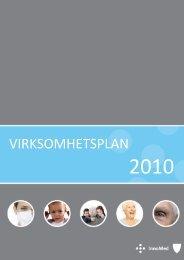 VIRKSOMHETSPLAN - Innomed