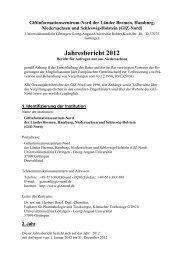 Jahresbericht 2012 - Giftinformationszentrum-Nord