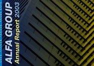 Annual Report 2003ALFA Annual Report 2003 - Alfa Group