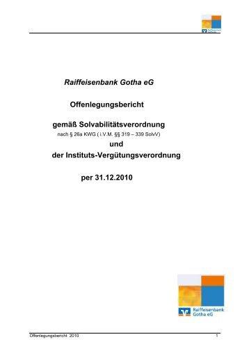 Zum Download Raiffeisenbank Gotha Eg