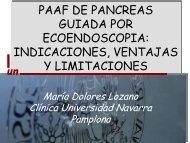 PAAF de páncreas guiada por ecoendoscopia