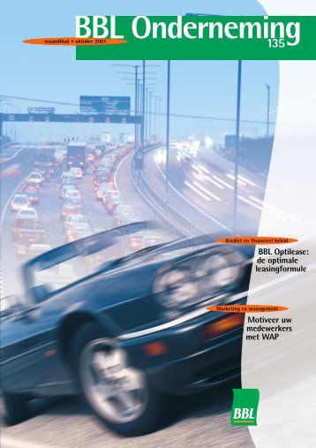 BBL Optilease: de optimale leasingformule ... - ING Onderneming