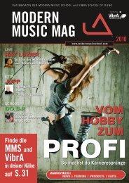 Das Modern Music Mag hier als PDF lesen - Modu publishing