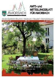 """""""Und wenn wir die ganze Welt durchreisen, um das ... - Amorbach"""