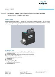 Portable Gamma Spectrometer based on HPGe detector cooled with ...
