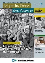 3ème trimestre 2011 - petits frères des Pauvres
