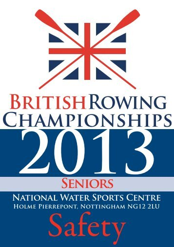 pdf version - British Rowing Championships