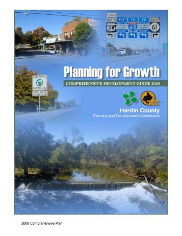 2008 Comprehensive Plan - Hardin County Government