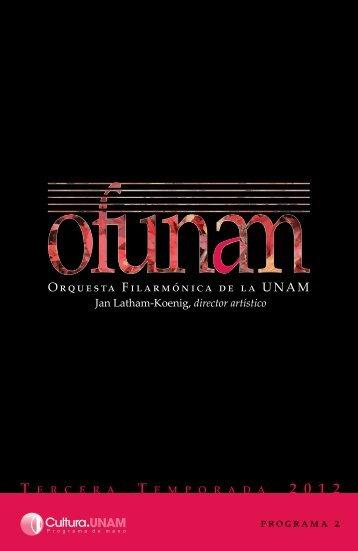 Descargar Programa ompleto - Música UNAM - Universidad ...