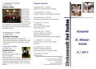 Konzerte St. Nikolai- Kirche II / 2011 - Startseite | Kirchengemeinde ...