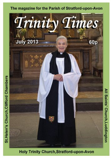 Download Now - Holy Trinity, Stratford-upon-Avon