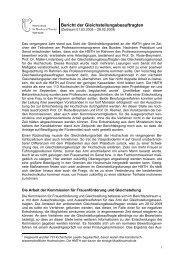 Tätigkeitsbericht Studienjahr 2008-09 - Gsb.hmtm-hannover.de