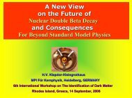 A New View on the Future of Nuclear Double Beta Decay and ...