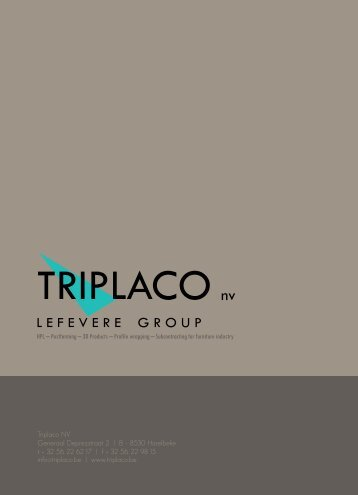 Information and Processing Manual Rheinspan® AirMaxx - Triplaco nv
