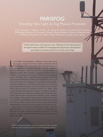 PARISFOG - sirta - Ecole Polytechnique