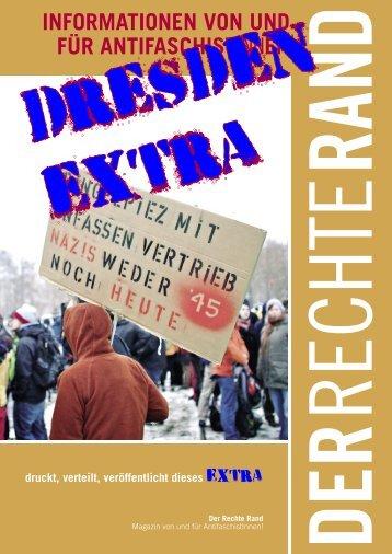 drr extra dresden - Der Rechte Rand