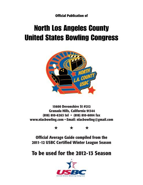 Download File Here North Los Angeles County Usbc Association
