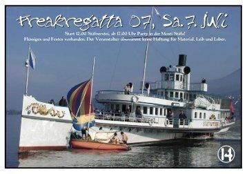 Einladung Freakregatta 2007