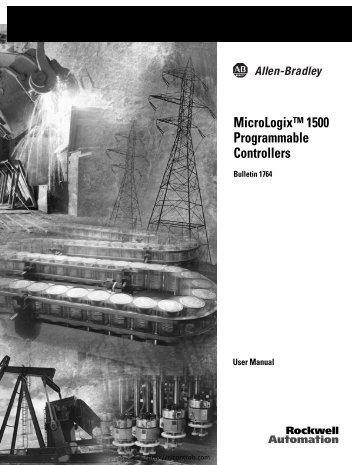 Allen Bradley MicroLogix 1500 manual - Northern Industrial
