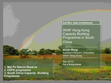 Capacity building in South China - Wetland Link International