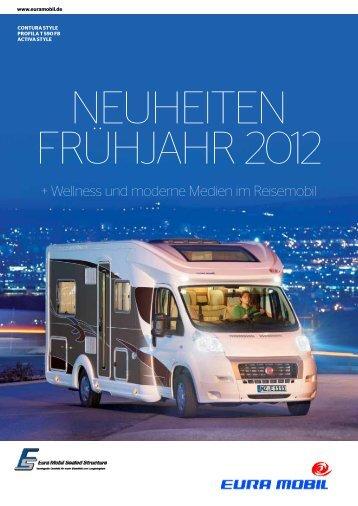 + Wellness und moderne Medien im Reisemobil - Eura Mobil